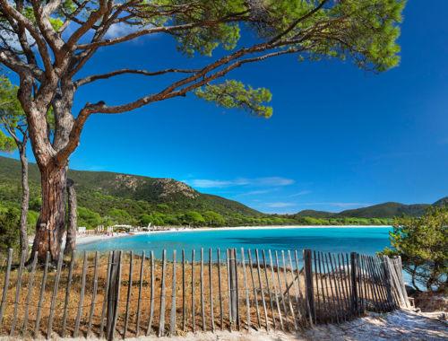 Plage de Palombaggia sud Corse