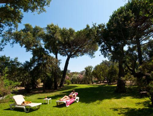 Parc dans résidence à Palombaggia Porto-Vecchio